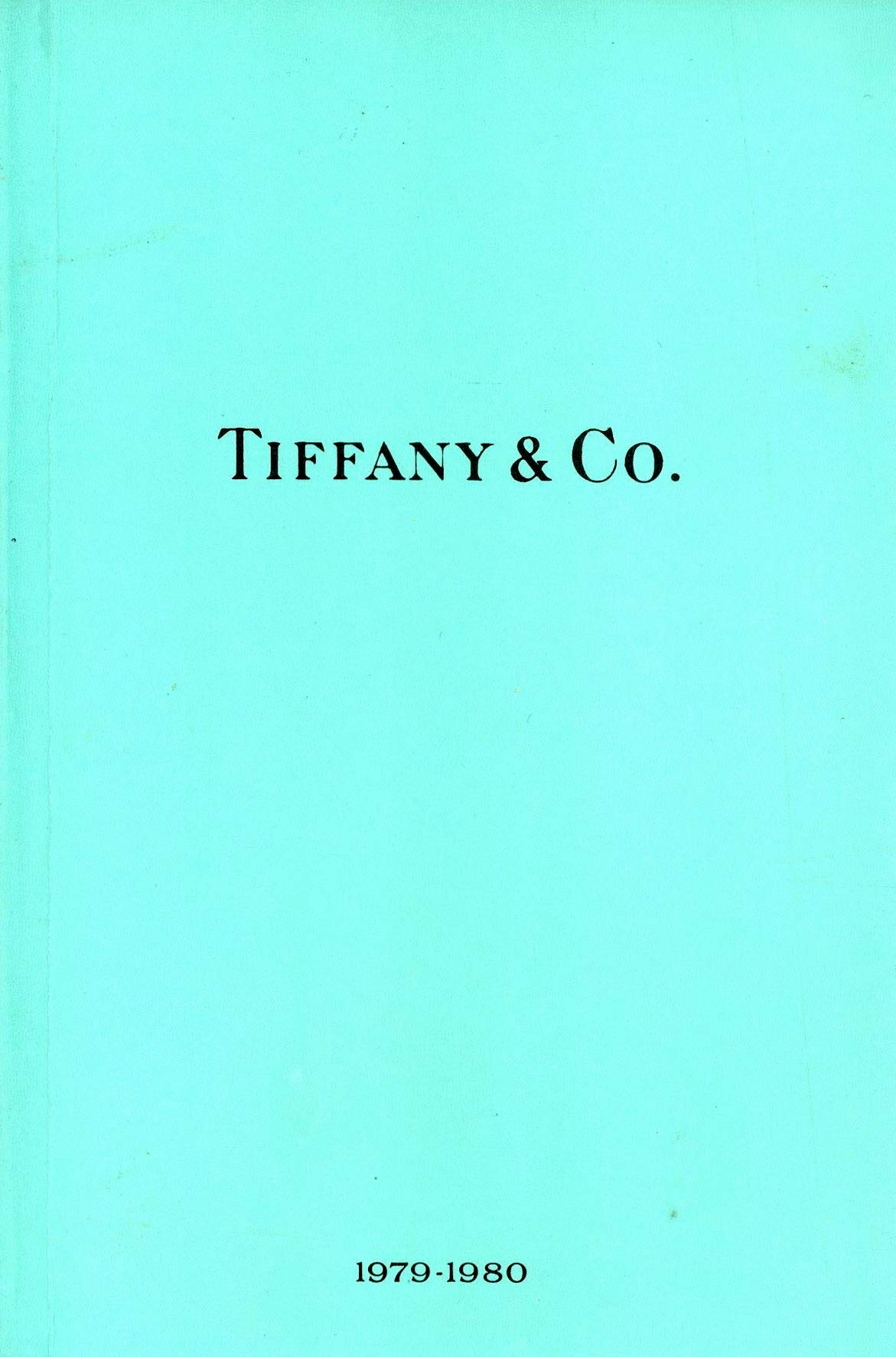 Tiffany Co 1979 1980 The Tiffany Co Blue Book Tiffany Designers Books