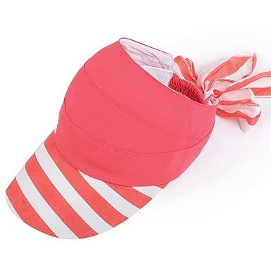 51ed352e31e30 Hat Ladies Caps Summer sunhat Outdoor cycling UV Beach hat Sun Hat-C  adjustable  Amazon.co.uk  Clothing