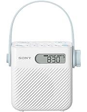 Sony ICF-S80 Radio Portable Splashproof - Blanc