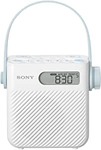 Sony ICF-S80 Splash Proof Shower Radio with Speaker