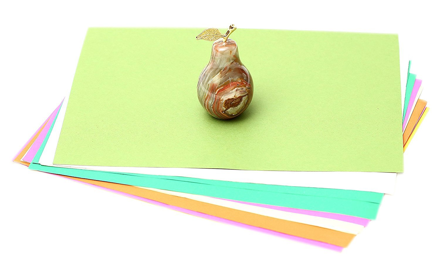 Pear RADICALn Small Home Decor Collection Pear Paperweight Top Home Decor Ideal As Home Decor Gifts Ideas Best for Table and Study Office D/écor Non Glass Pear Paperweight