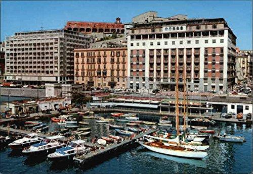 Santa Lucia and Grand Hotels Naples, Italy Original Vintage -