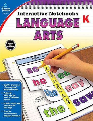 Interactive Reading Kindergarten - Language Arts, Grade K (Interactive Notebooks)