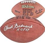 "Chuck Bednarik Philadelphia Eagles Autographed Rozelle Pro Football with HOF 67"" Inscription - Fanatics Authentic Certified"