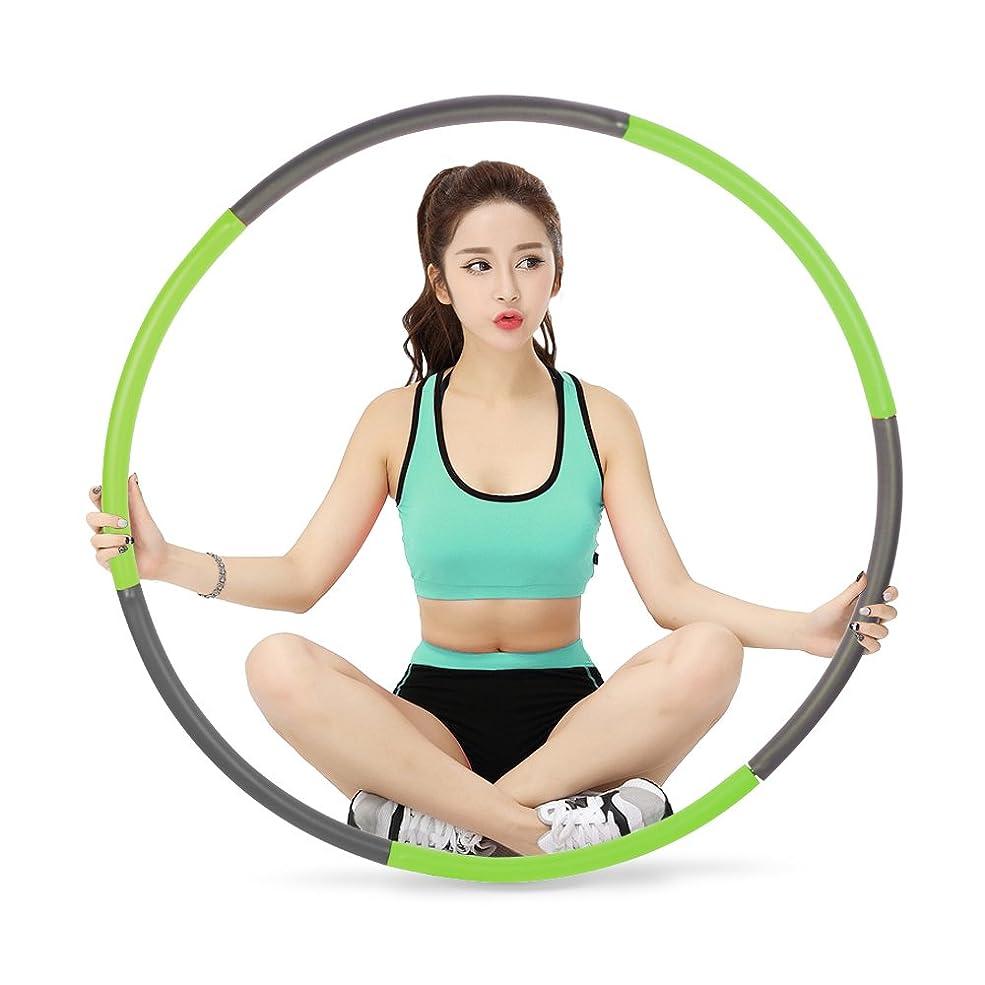 与える睡眠アルネスポーツ フラフープ 運動 フラフープ ダイエット用 健康のために 組み立て式