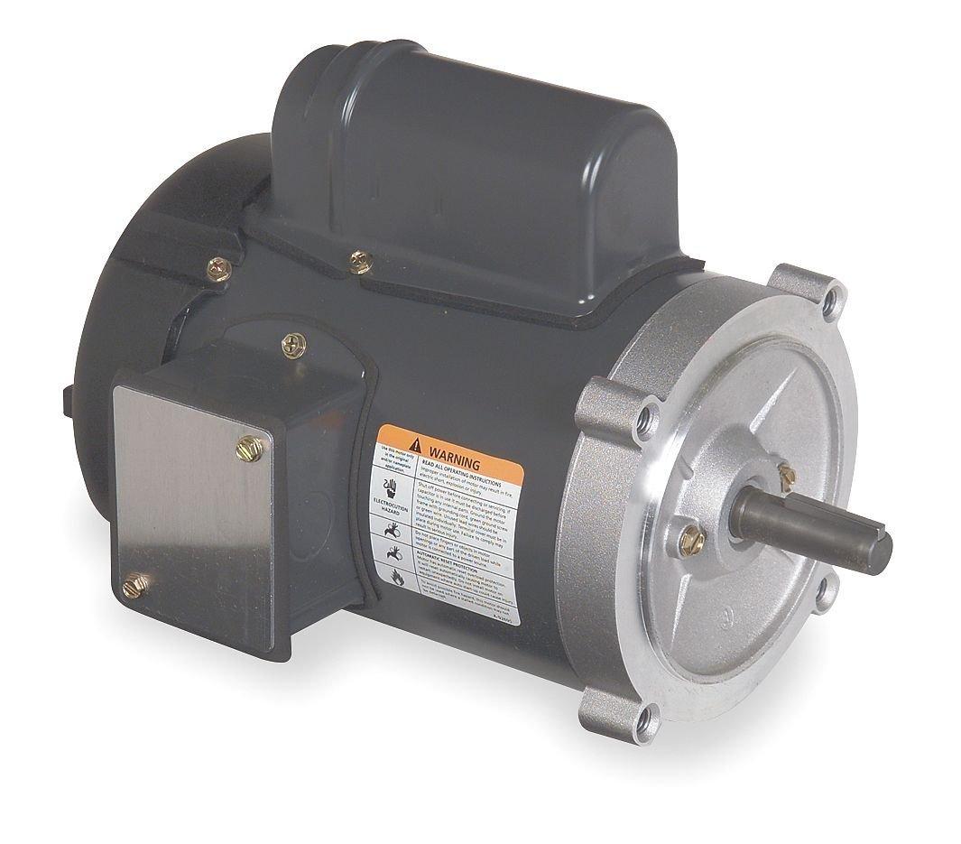 Dayton 6K342 Motor, 1/2 hp, 56C, Degrees_Fahrenheit, to Volts, Amps, (
