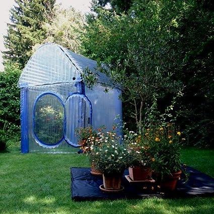 Geliebte Aufblasbares Gewächshaus WinterSafe M 150x150x170cm: Amazon.de: Garten &IC_28