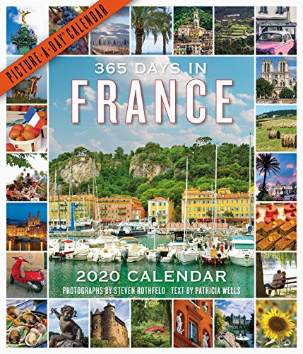 365 Days in France Picture-A-Day Wall Calendar 2020 [12