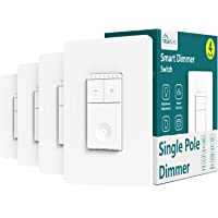 Deals on 4-Pk Treatlife Smart Dimmer Switch w/Alexa and Google Assistant