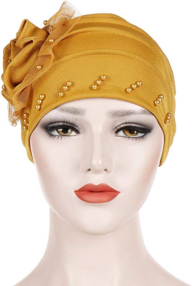 Frauen Soft Chemo Cap Stretch Kopftuch Hut Kopfbedeckung Bandana für