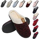 incarpo Zapatillas Casa Mujer Lana de Coral Zapatillas de Estar por Casa Antideslizante Pantuflas de Interior y Exterior…