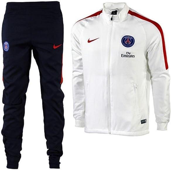 Nike PSG M NK Dry TRK Suit SQD W Chándal Paris Saint Germain ...