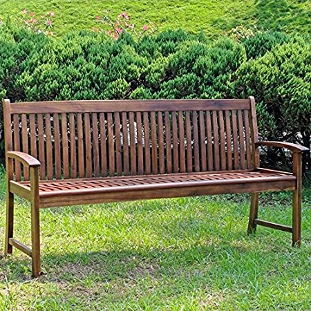 Pemberly Row Patio Glider Loveseat in Antique Brown Rocking Chairs ...