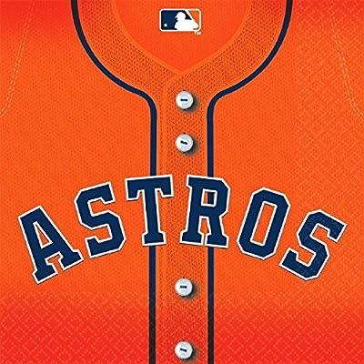 """Houston Astros Major League Baseball Collection"""" Luncheon Napkins: Toys & Games,"""