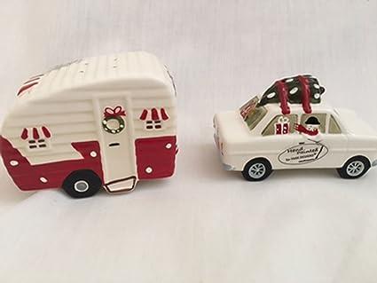 Christmas Vacation Car.Christmas Vacation Car Pulling Camper Salt And Pepper Shaker