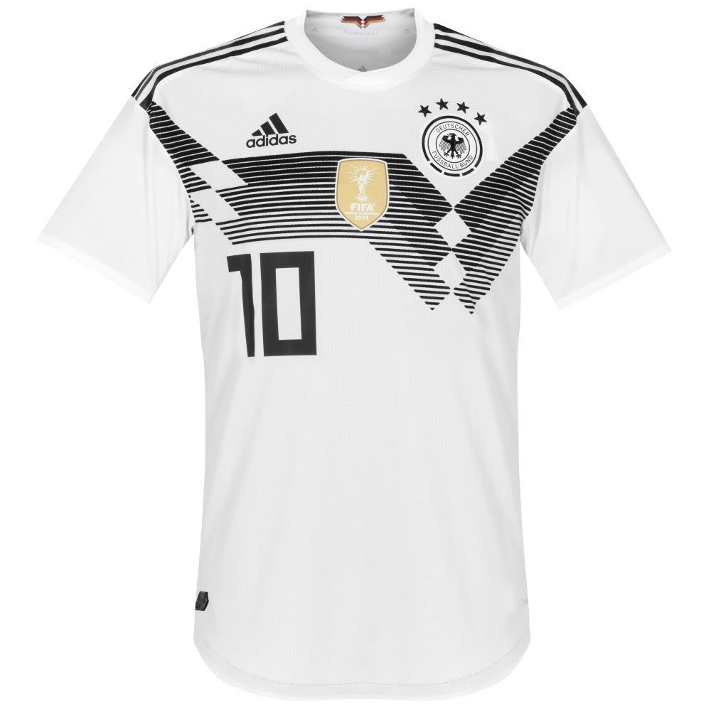Deutschland Home Authentic Trikot 2018 2019 + Özil 10 - M