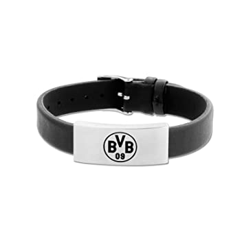 sehr schön 9fe53 9d68a Borussia Dortmund BVB-Lederarmband (schmal) one Size