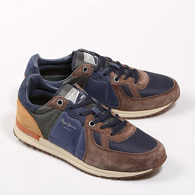 7ee953fc1e5 Pepe Jeans Herren Tinker Pro-Camp Sneaker  Amazon.de  Schuhe   Handtaschen