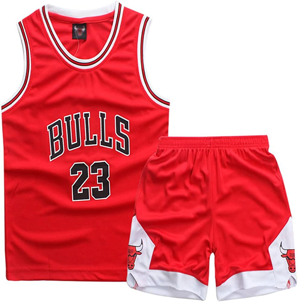 ADELGO Boys 2-Piece Performance Tank Top and Shorts Set
