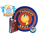 Thought Spot - The Portable Parenting Time Out Mat with DIGITAL TIMER- 24 Inch Diameter made from recyclable non-toxic materials