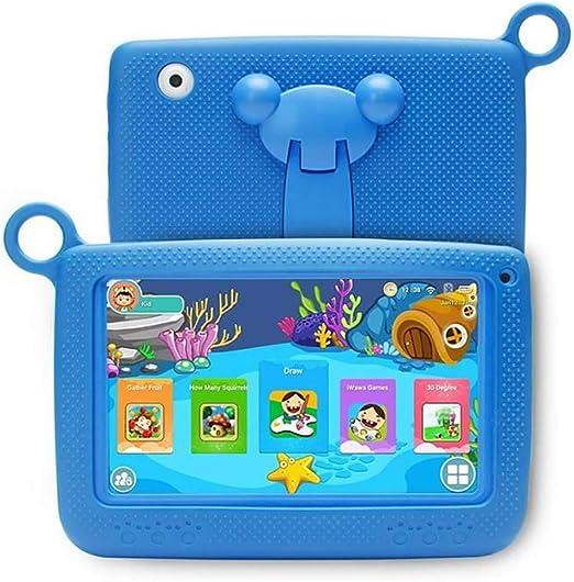 Peahop Tableta para niños con Estuche Azul Apto para niños 7