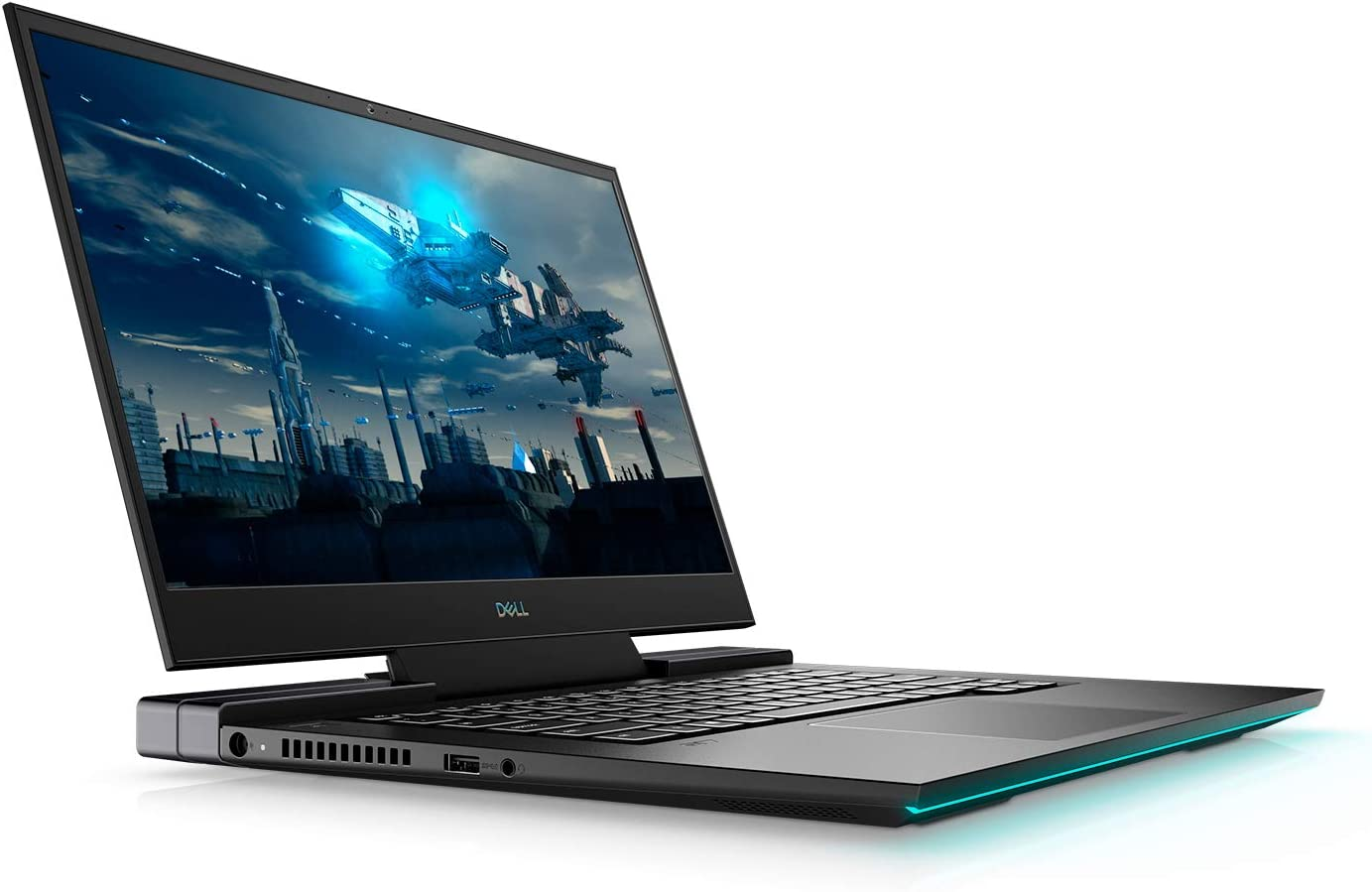 "New G7 17 Gaming Laptop 10th Gen Intel i7-10750H GeForce RTX 2070 8GB 17.3"" FHD Display 300Hz + Best Notebook Pen Light (1TB SSD 64GB Ram 10 Pro)"