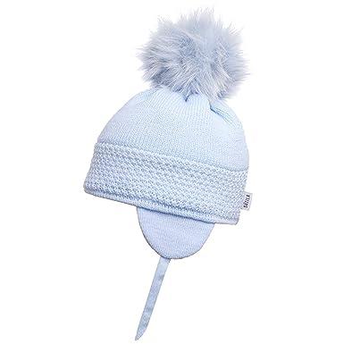 023b069607a Satila of Sweden Baby Blue  Daisy  Faux Fur Pom-Pom Hat (53)  Amazon ...