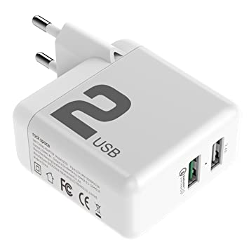 Qualcomm Quick Charge 3.0 Carga Rápida cargadores, Rock T13 ...