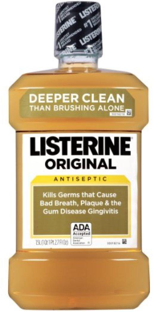 Listerine Original 1500 mL (Pack of 10)