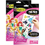 Colorforms Fun Pack Re-stickable Set - 2 Pack - Disney Princess