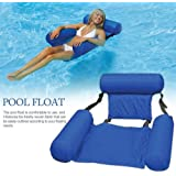 Water Hammock, Pool Lounger Float Hammock Inflatable Rafts Swimming Pool Air Sofa Floating Chair Bed Drifter Swimming…