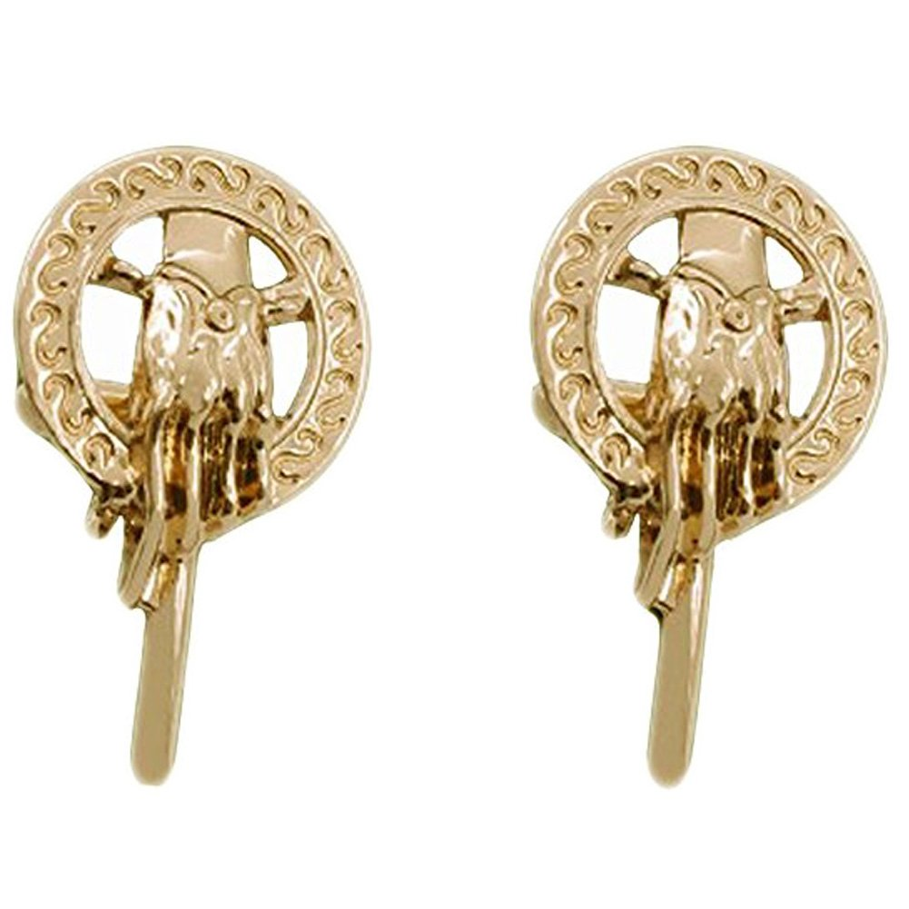 V G S Eternity Fashions Fashion Jewelry ~Gold- tone Games of Thrones Hand of The King Cufflinks