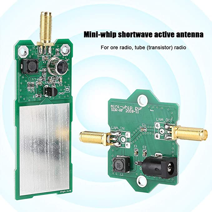Wendry Antena de Radio, Placa PCB Mini-Whip MF/HF/VHF/SDR ...
