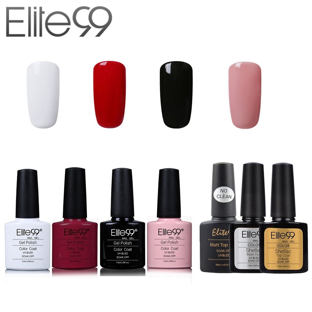 Esmaltes de gel de uñas | Amazon.es
