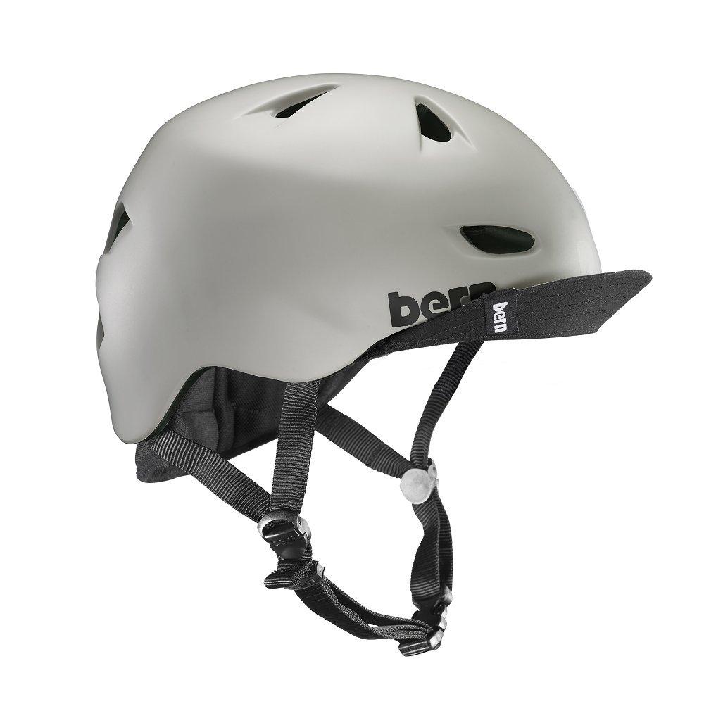 Bern Unlimited Brentwood Summer Helmet with Flip Visor VM3MBKVLXL