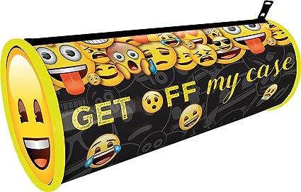 Amazon.com: The Home Fusion Company Emoji Barrel Tube Pencil ...