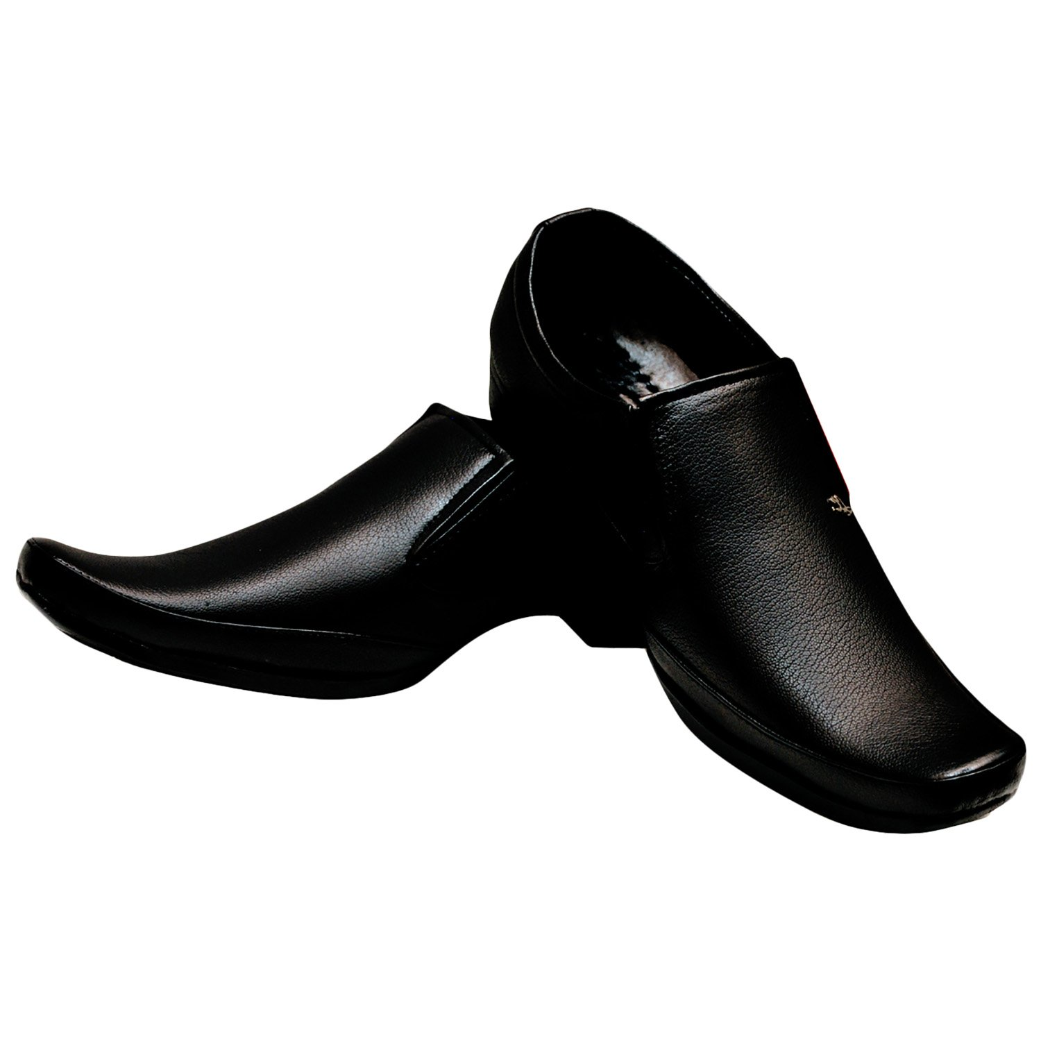Deals on Kraasa Black Shoes for Men