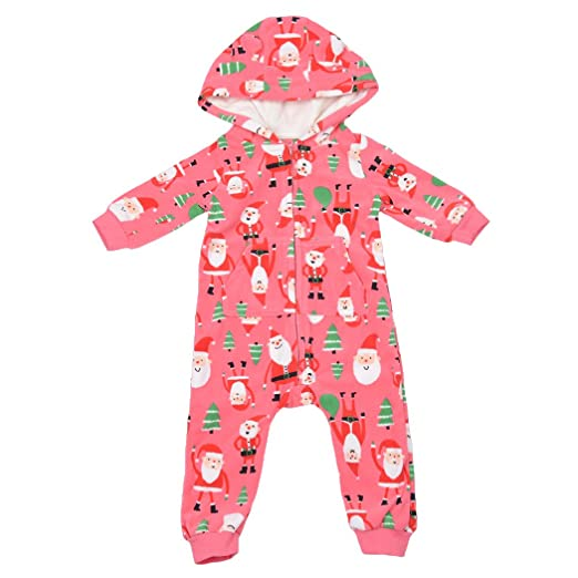 626c885086c Little Hand Newborn Baby Baby Girls  Long Sleeve Organic Footless Coverall  Zip Front Bodysuits