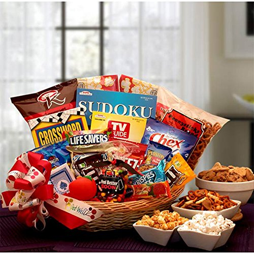 Feel Better Soon Get Well Gift Basket (Organic Gifts Delivered)