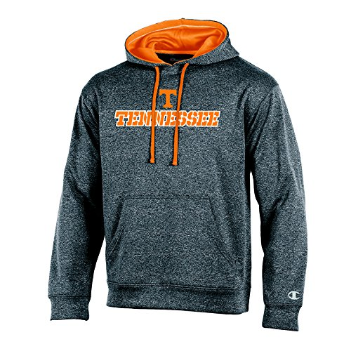 Tennessee Vols Tailgate - NCAA Tennessee Volunteers Adult Men Pullover Hood with Contra, X-Large, Anthracite