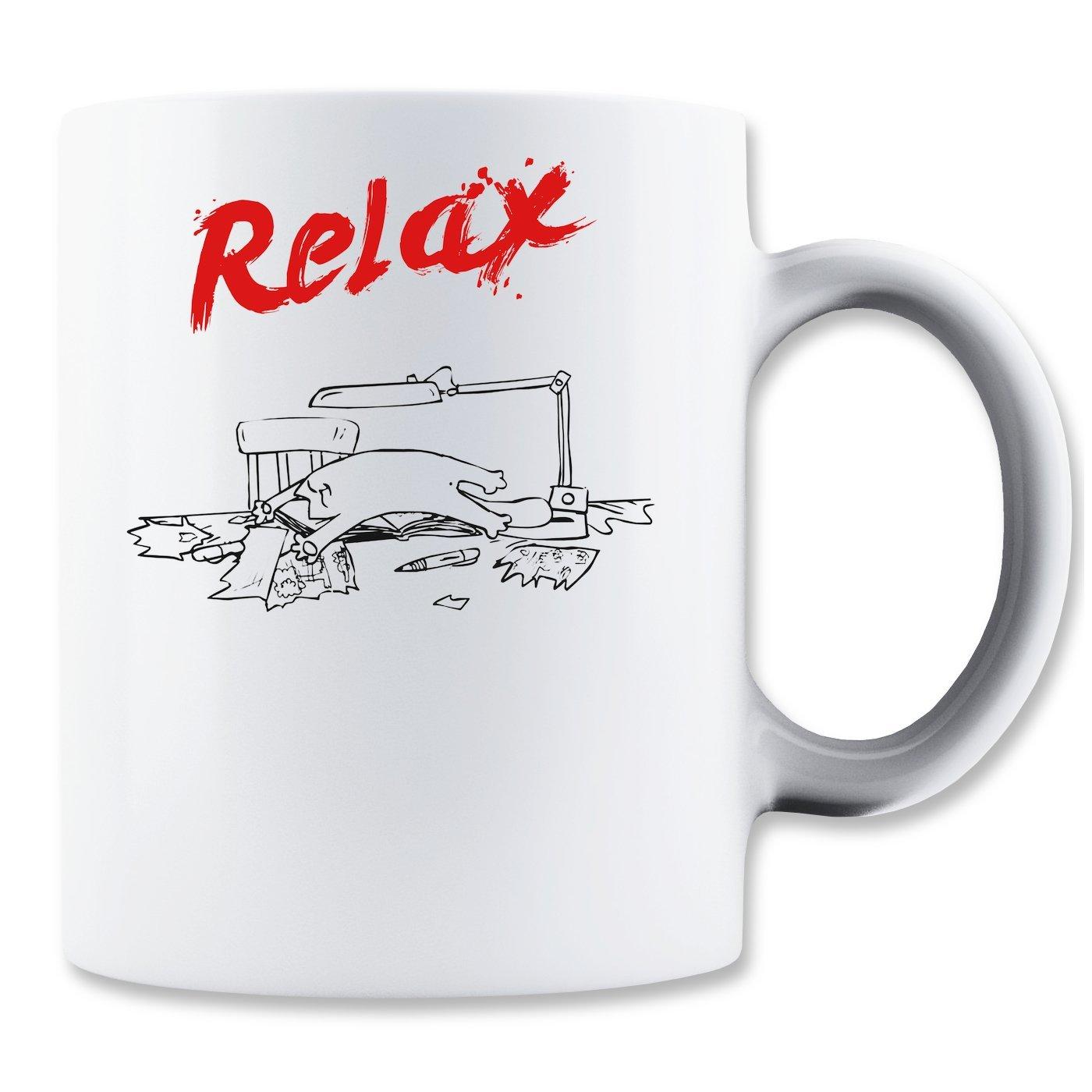 Kaffeetasse: Relax (350ml)