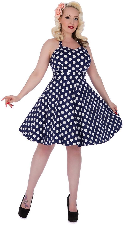 Sylvia' 50er Jahre Damen Vintage Rockabilly Polka Dots Kleid von Dolly and Dotty™