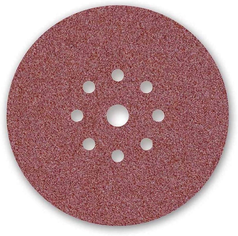 9-Loch 225 mm 10 Stk. Korn 36 f MENZER Red Klett-Schleifscheiben Normalkorund Trockenbauschleifer
