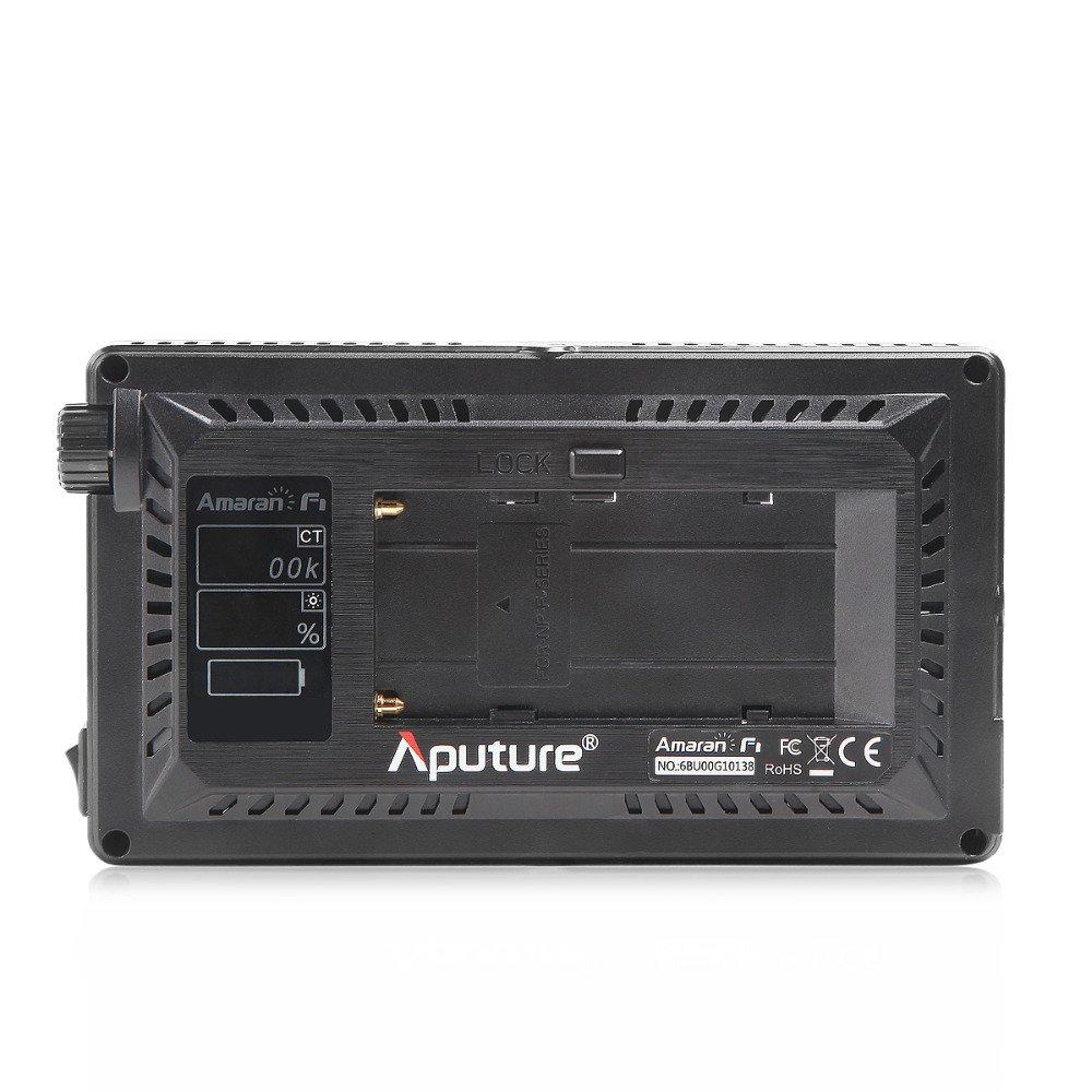 Aputure Amaran AL-F7 On Camera LED Video Light Color Temperature 3200-9500K CRI/TLCI 95+ Led Panel Versatile On-Camera LED Light (Updated version of Aputure Al-H198) by Aputure (Image #4)