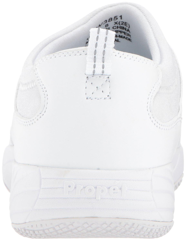 Propet Women's Wash N Wear Slip B06XS272DY on Ll Walking Shoe B06XS272DY Slip 9.5 B(M) US|Sr White 9ebaea