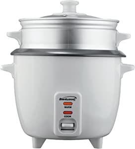 BRENTWOOD TS-180S 8-Cup Rice Cooker with Steamer ;Supply_from:mygoods
