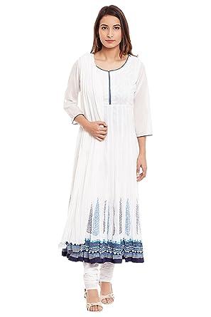 9edb83129 BIBA Women's Anarkali Salwar Suit: Amazon.in: Clothing & Accessories