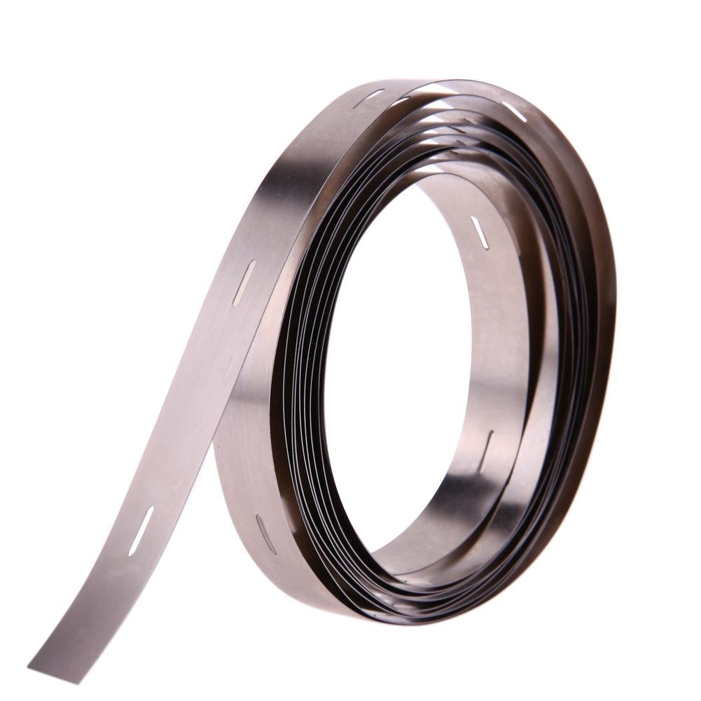 Alloet 2M 0.210MM Ni Plate Nickel Strip Tape For Li 32650 Battery Spot Welding