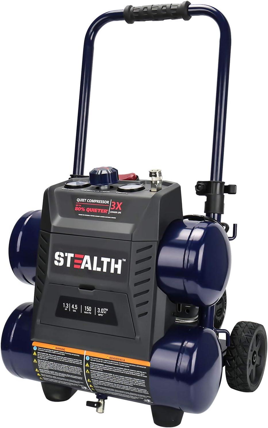 Stealth 4.5-Gallon Portable Air Compressor