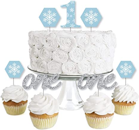Awesome Cake Cupcake Toppers Toys Games Glitter Winter Onederland Funny Birthday Cards Online Fluifree Goldxyz